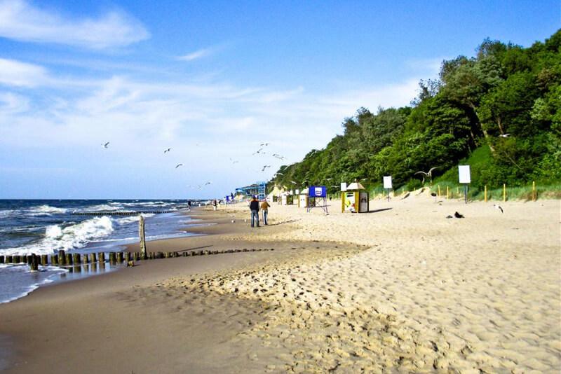 Plaża w Rewalu zdjęcie