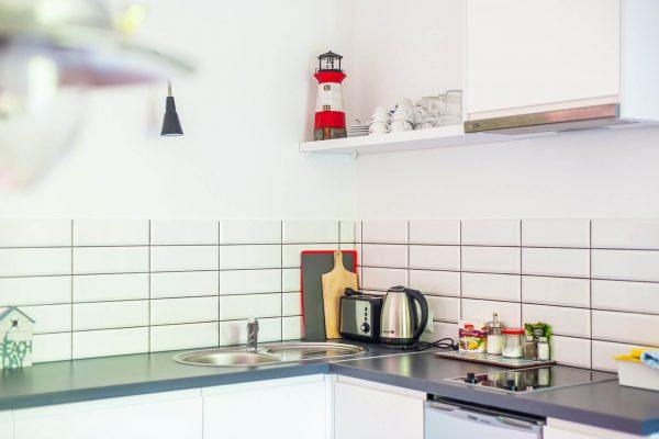 Kuchnia w apartamencie w w Rewalu